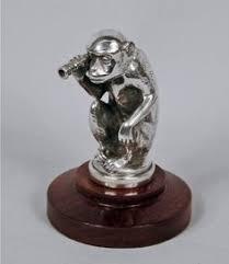 finnigans speed god motor car mascot ornament by g poitvin