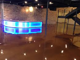 Commercial Epoxy Floor Coatings Commercial Entry Floor With Metallic Epoxy This Floor Is With