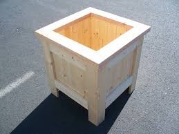 cedar planter boxes wooden flower box plans window boxes
