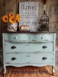 Annie Sloan Duck Egg Blue by Antique Dresser In Duck Egg Blue Annie Sloan Inspired Diy