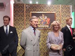 prince william prince charles camilla and prince harry in madame