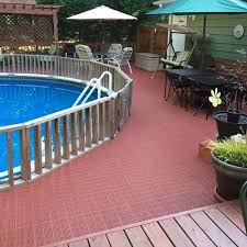 precautions for installing deck tiles over wood decks