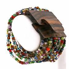colored bead bracelet images Multi colored beaded bracelet stretch cuff glass bead bracelet jpg
