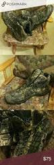 rare cabela army camo hunting boots waterproof 14d army camo