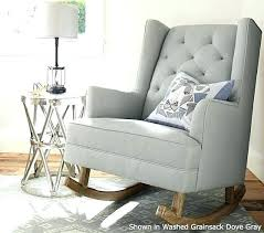 Glider Chair With Ottoman Wonderfull Nursery Rocking Chairs With Ottoman For House Design