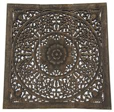 Balinese Home Decor Elegant Wood Carved Wall Panelswood Carved Floral Wall Art Bali