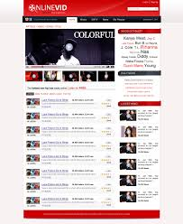 templates for video website free download video web template by nabinbuzz deviantart com on