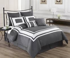 grey bedding ideas king size bedding ideas homesfeed white and grey combination of king