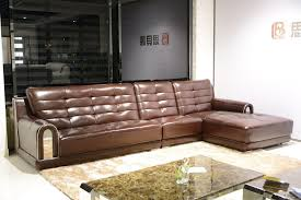 Big Leather Sofas Modular Brown Genuine Leather Sofa Set Big Size Sofa Modern Design