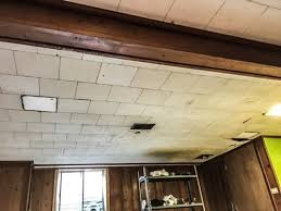 diy painted basement ceiling project u2014 first thyme mom