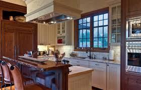 Kitchen Rough Stone Kitchen Island With Granite Countertop Also - Rough stone backsplash