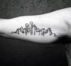 20 dallas skyline tattoo designs for men texas ink ideas