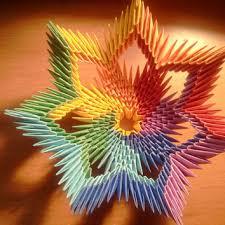 Origami 3d Flower Vase 3d Origami Rainbow White Vase From 3dorigamiartstudio On Etsy