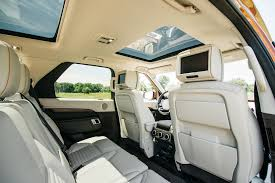 land rover defender interior back seat an orange 2017 land rover discovery joins the four seasons fleet