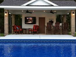pool house with bathroom diy pool house plans lovely pool house plansth outdoor kitchen small
