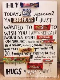 candy card for boyfriends birthday crafty crafty pinterest
