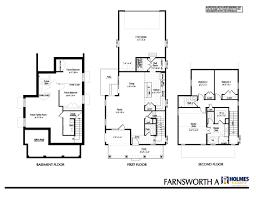 A Floor Plan by Farnsworth A Holmes Homes