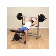 Body Solid Preacher Curl Bench Solid Gdib46l Olympic Combo Bench