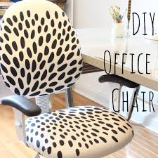 diy reupholstered office chair home goodness pinterest