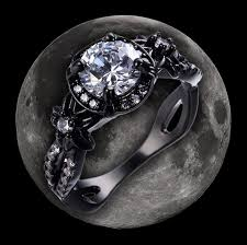 fashion gem rings images Essence of the moon gem ring galactic rings jpg