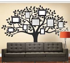 family tree picture frame wall decal vinyl thingz