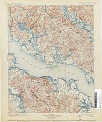 Map Of Maryland And Virginia by