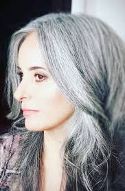 funky hairstyle for silver hair pin by chelin on grey grace pinterest gray hair silver hair
