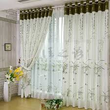 Green Colour Curtains Ideas Living Room Awesome Green Glass Stainless Modern Design Wall