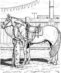 cowboy coloring pages boys coloringstar