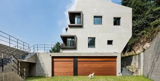 Slanted Roof House Seoul U0027s Multi Tiered Deep House Slopes Into A Gorgeous Grassy Roof