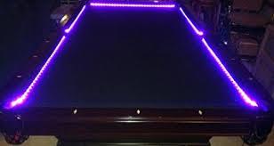 led pool table light amazon com octane lighting bar billiard pool table bumper led rgb