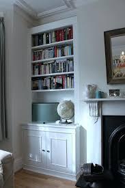 fireplace wondrous bookshelves fireplace home furniture