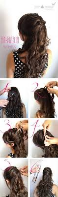 step bu step coil hairstyles step by step curly hairstyles