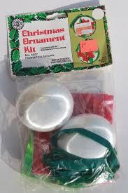 ornaments kits sealed packages satin balls felt shapes