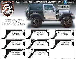 silver jeep rubicon 2 door jeep wrangler jk u2013 streetgrafx