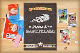 custom basketball cards retro 50 series cards
