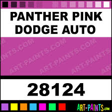 panther pink dodge auto model metal paints and metallic paints