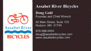 Bicycle Business Cards Bicycle Shop Business Cards