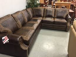 studded leather sectional sofa wonderful sofas fabulous genuine leather couches studded sofa best