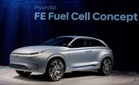 hyundai fe fuel cell concept previews hydrogen powered suv coming
