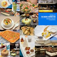 round table dinner buffet price chasing food dreams dining at the square at novotel melaka