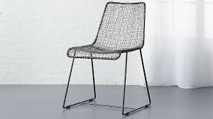 Wire Patio Chairs Dining Chairs Extraordinary Mesh Dining Chair Metal Mesh Dining