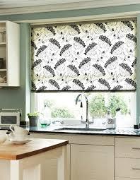 kitchen blinds ideas uk patterned kitchen roller blinds modern iagitos