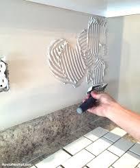 How To Install A Kitchen Backsplash The Best And Easiest Tutorial - Backsplash trim strips