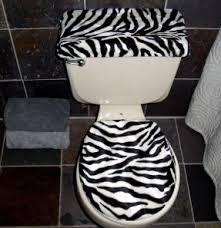 Zebra Print Bathroom Rugs Animal Print Toilet Seat Covers Zebra Seat Cover Zebra Bathroom