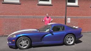 Dodge Viper Old - how much will carmax pay for a dodge viper video