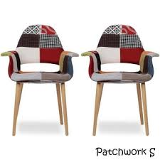 Armchair Legs Retro Woven Patchwork Dining Chair With Eiffel Legs Free