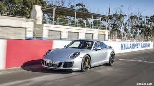silver porsche 2018 porsche 911 carrera gts coupe color rhodium silver front