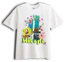 spongebob shirt ebay