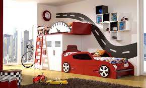 Race Car Bunk Beds Made To Order All In One Racing Car Bunk Bed Www Dazzlingdesigns